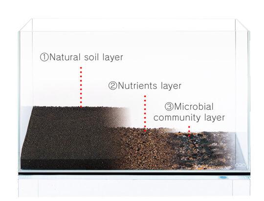Aquascape Ideas Aquascape Substrate Layers