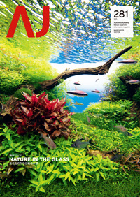 Aqua Journal Vol  281 (Printed Edition / Japanese) is released on
