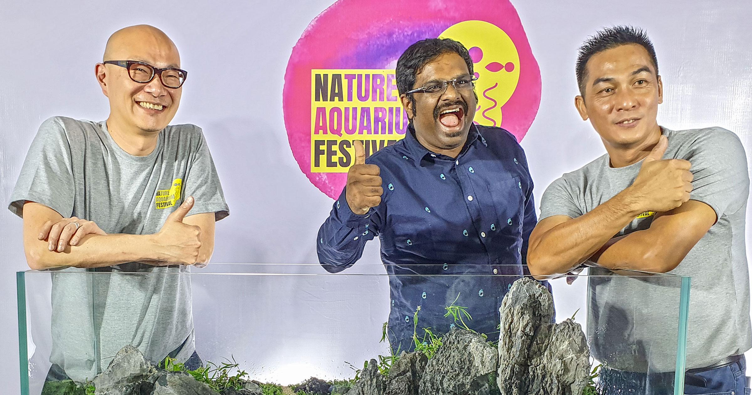 自然水景が織りなす芸術的表現の素晴らしさを共有する場 – ネイチャーアクアリウムフェスティバル開催