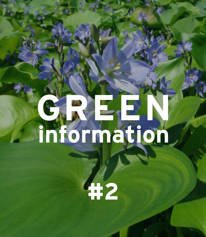 GREEN information #2「特定外来生物について」