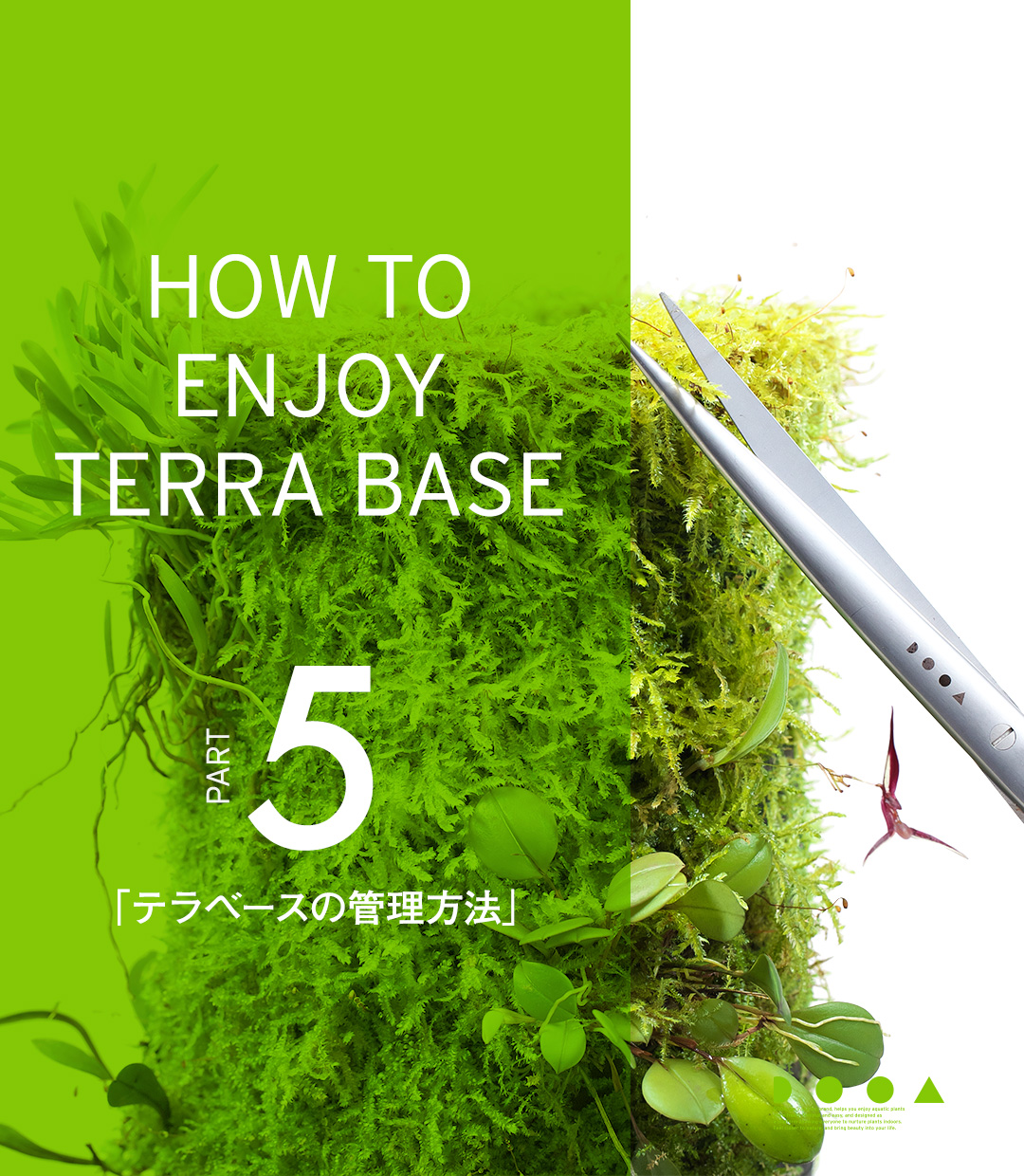 HOW TO ENJOY TERRA BASE PART5「テラベースの管理方法」