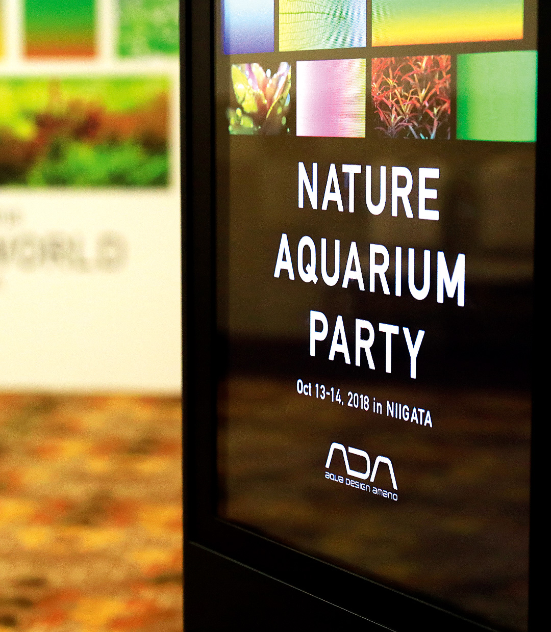 Looking back at the Nature Aquarium Party 2018