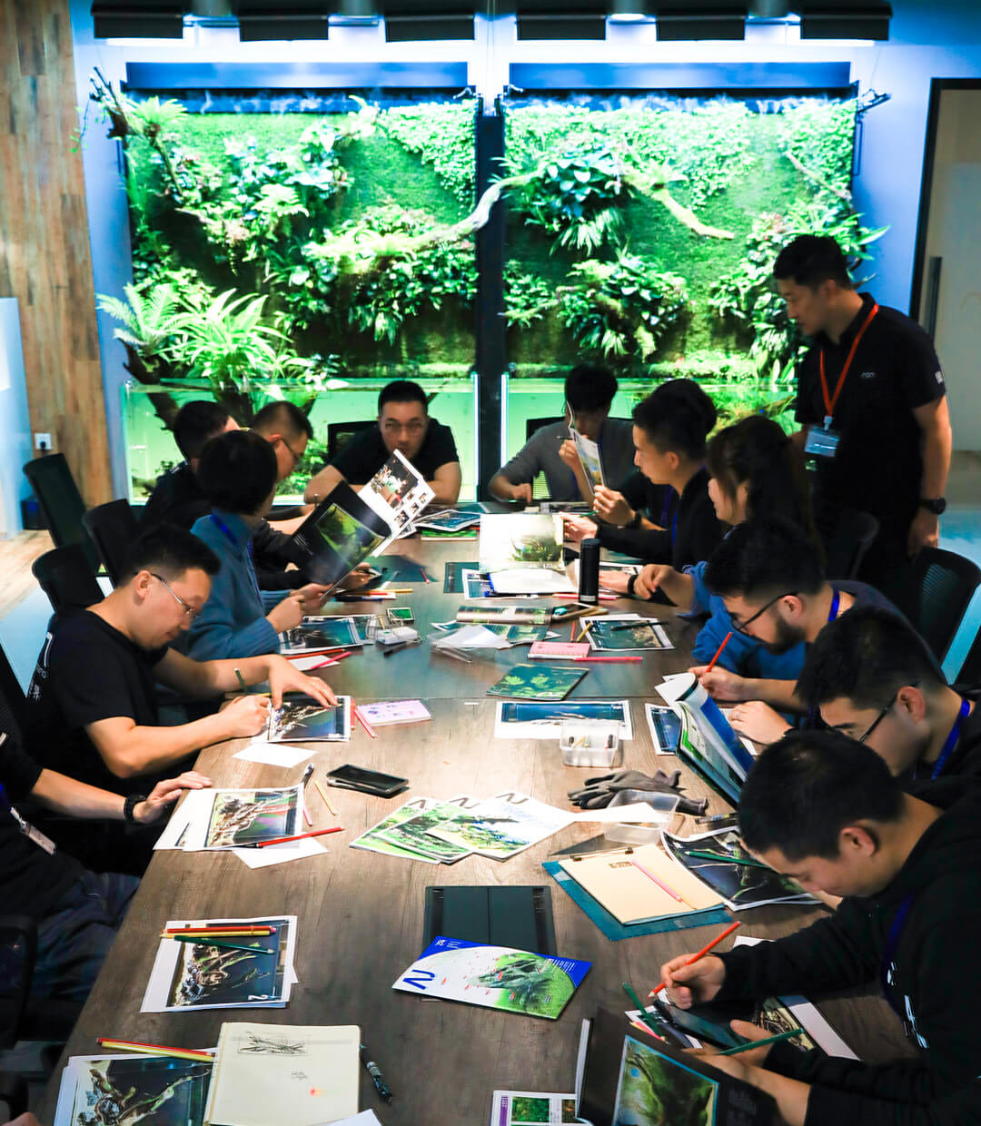 ADA China  ADA Nature Aquarium Master Class Seminar -Drift Wood-