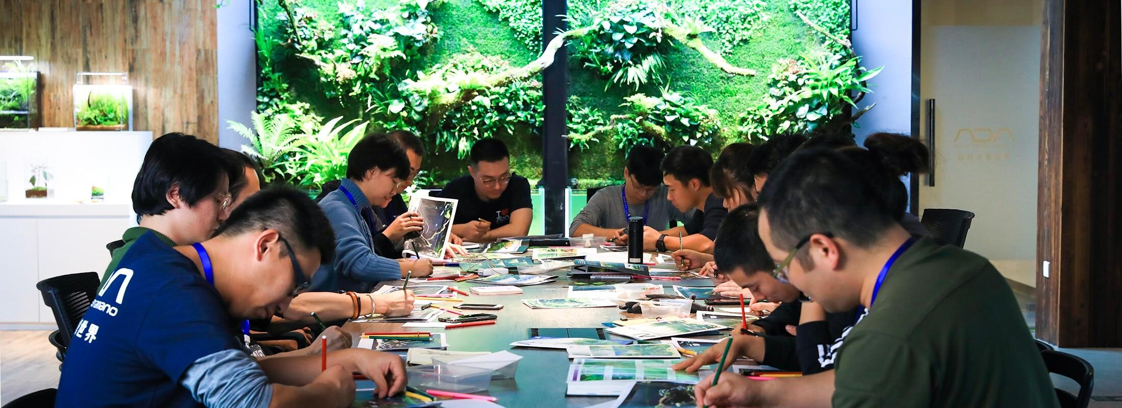 ADA China  ADA Nature Aquarium Master Class Seminar -Drift Wood-