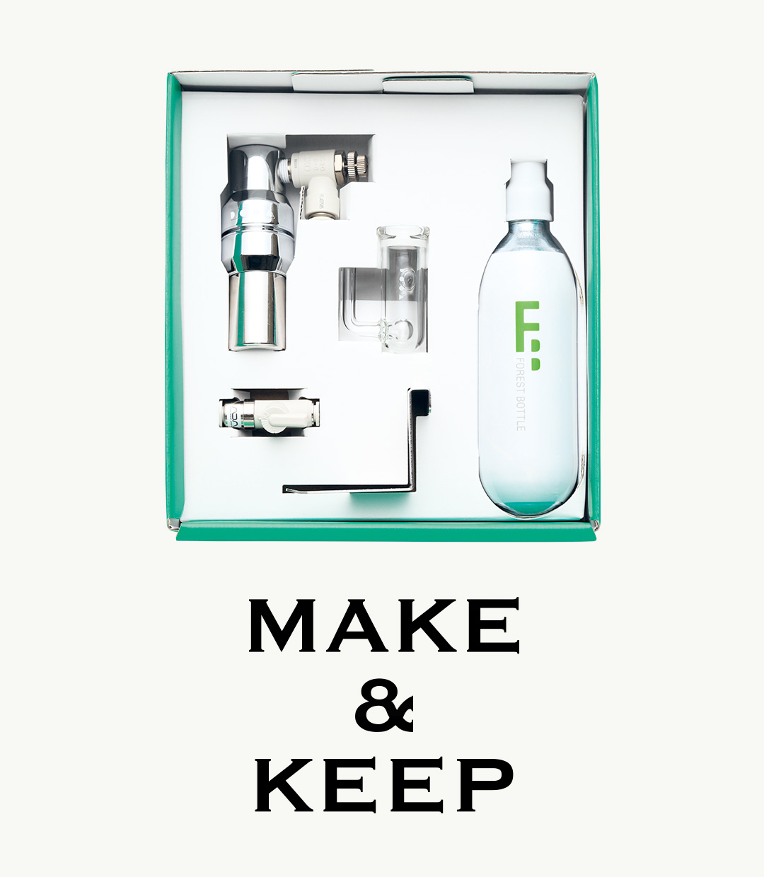 MAKE & KEEP 'CO₂ SYSTEM KIT'