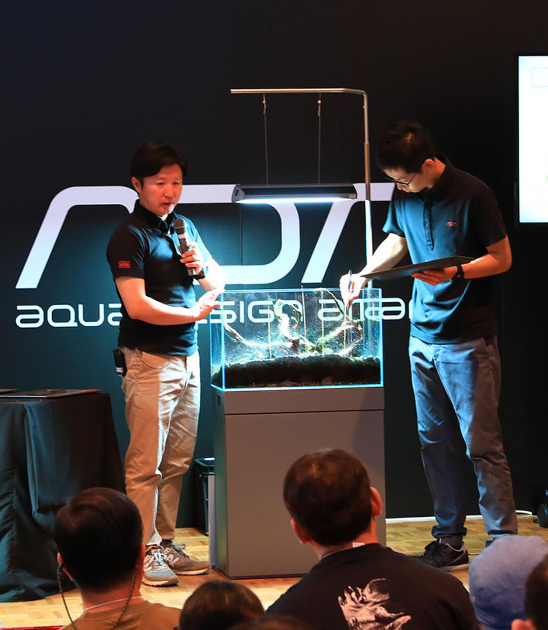 Report of the Layout Seminar at Aqua Garage Nagoya