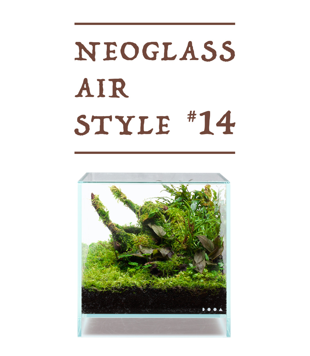 NEOGLASS AIR STYLE 'Composition image in an aquarium tank'