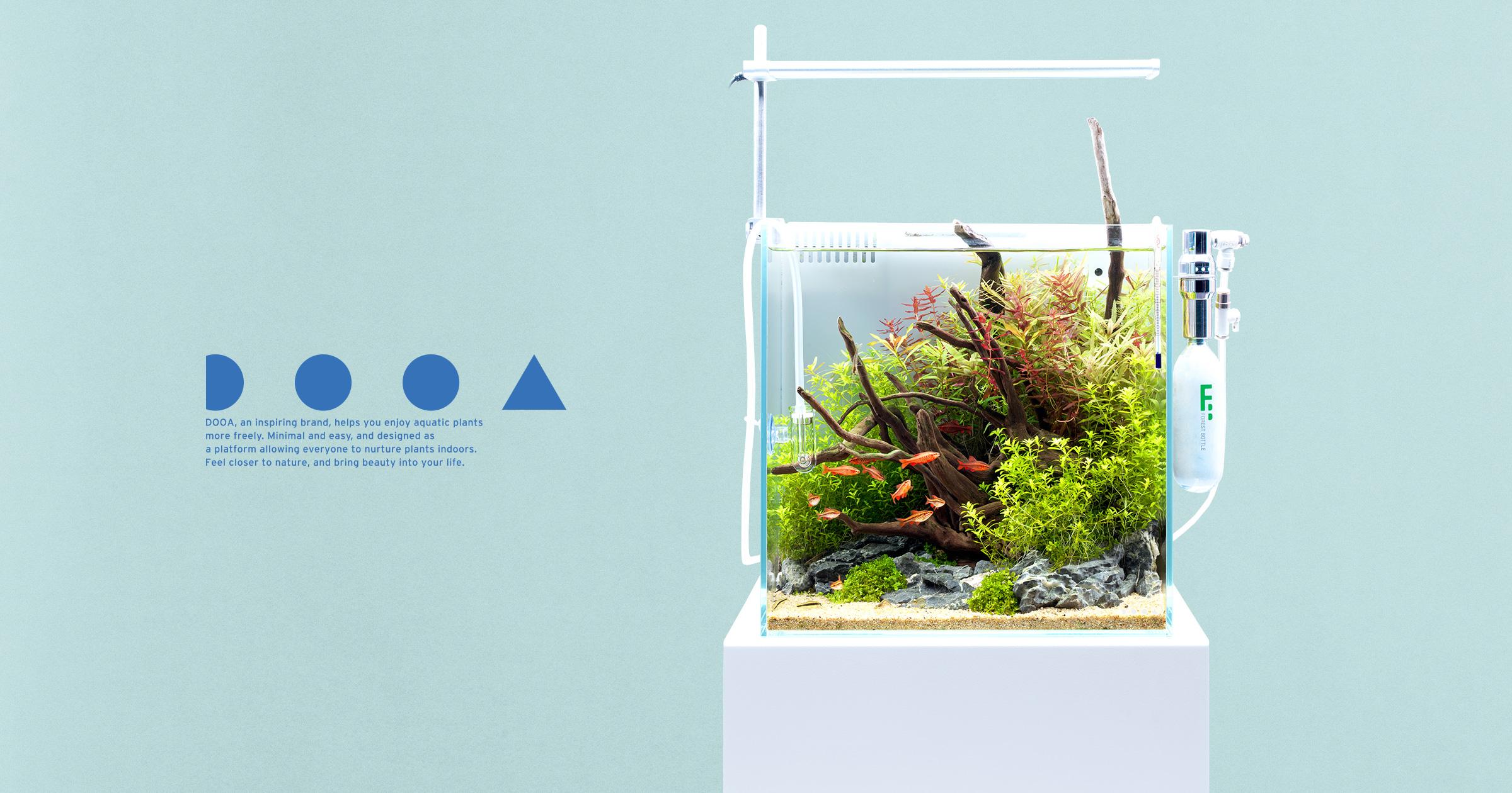 DOOA SYSTEM AQUA 30 'Aquascaping with  Easy-to-install Equipment'