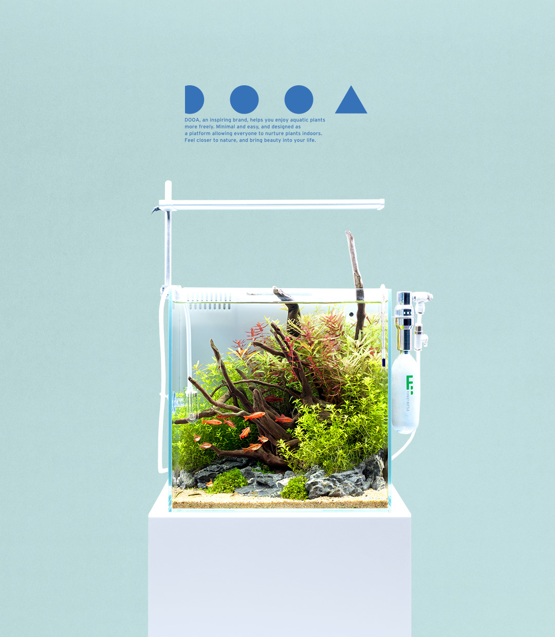 DOOA SYSTEM AQUA 30 'Aquascaping with  Easy-to-install Equipment'