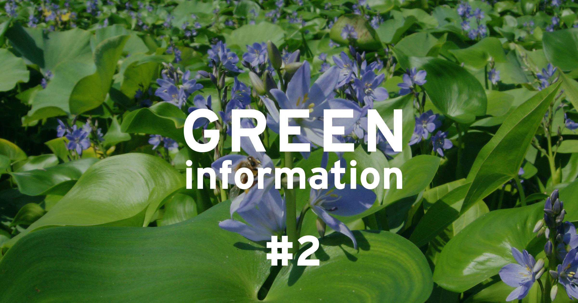 "GREEN information #2 ""About Invasive Alien Species"""