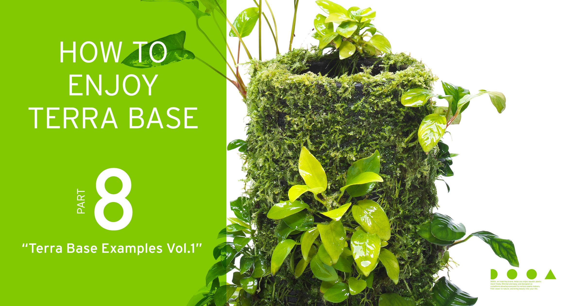"HOW TO ENJOY TERRA BASE ""Terra Base Examples Vol.1"""